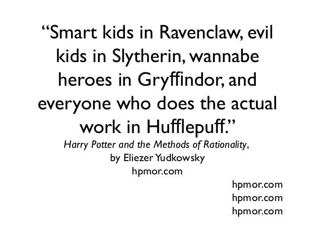 Slytherin 101: How to Win Friends and Influence People