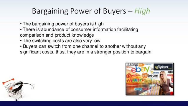 bargaining power of suppliers in online retail industry How the five forces of industry competition are disturbed by digital business  or slyce in online retail,  the bargaining power of suppliers.