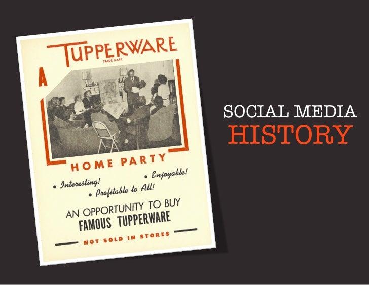 SOCIAL MEDIAHISTORY
