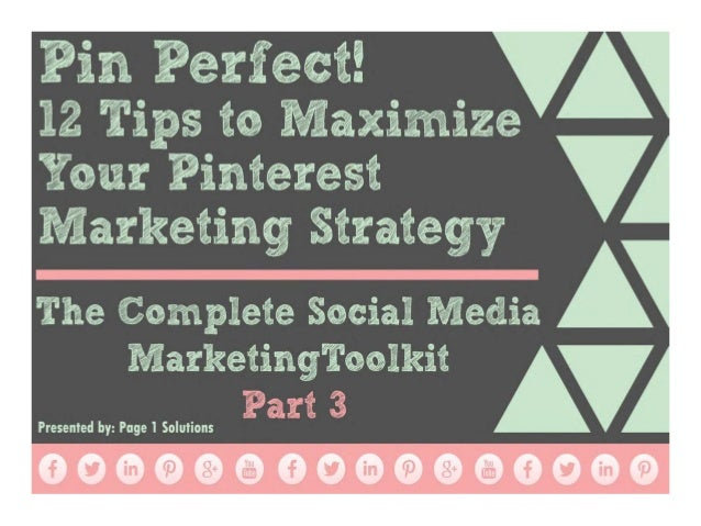 3 How to Set up a Pinterest For Business Page Pinterest was the fastest growing social network in 2013 and has become an i...