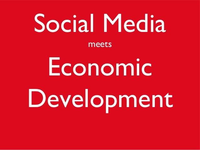 Social Media meets Economic Development