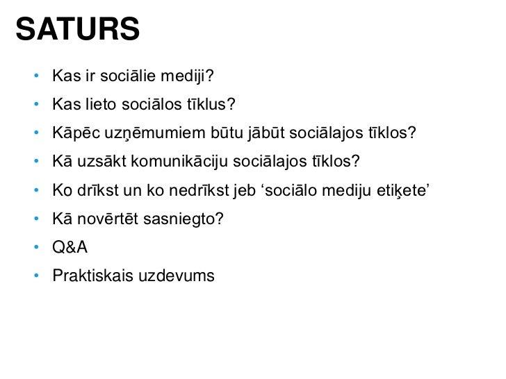 Sociālie mediji un to izmantojums sabiedriskajās attiecībās, reklāmā un mārketingā Slide 3