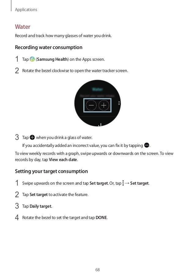 gear sport smartwatch user manual sm r600 rh slideshare net ESPN Sports Tracker Ford Sports Tracker