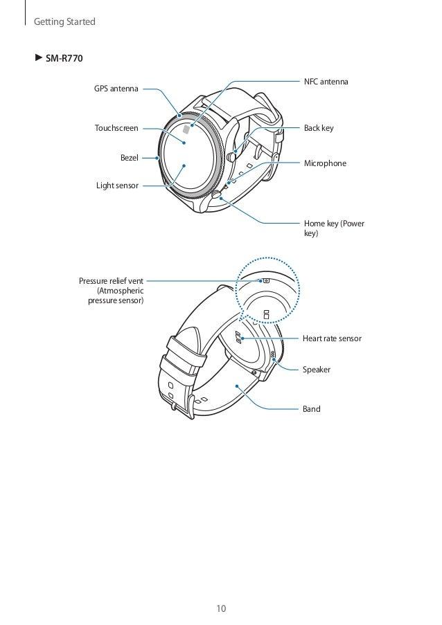 Samsung Gear S3 User Manual Sm R760 R770