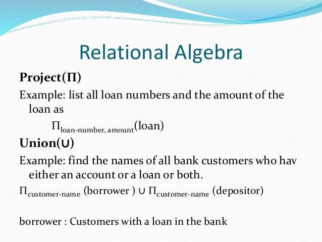 database   relational data model