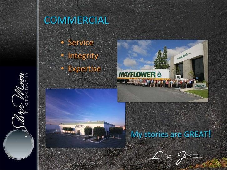 COMMERCIAL <ul><ul><li>Service </li></ul></ul><ul><ul><li>Integrity </li></ul></ul><ul><ul><li>Expertise </li></ul></ul>My...