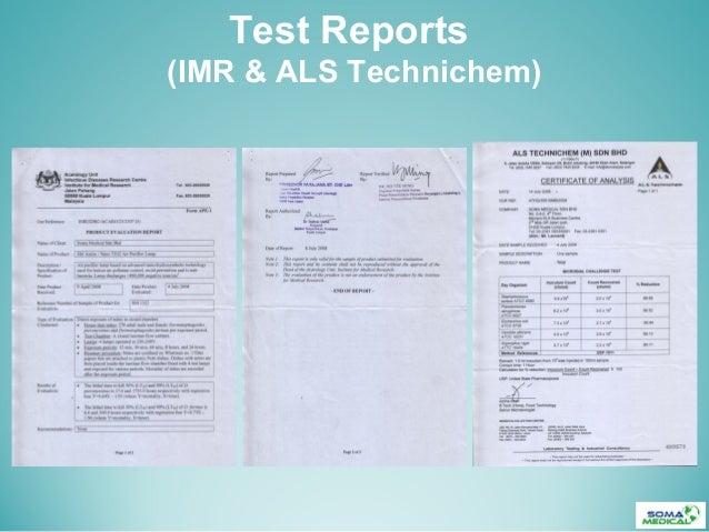 Test Reports(IMR & ALS Technichem)