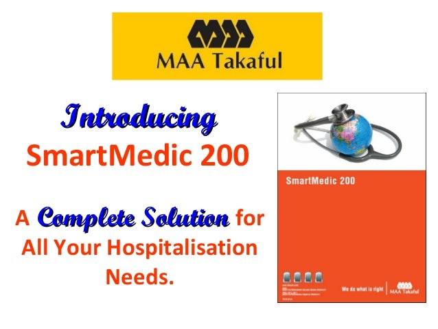 Introducing SmartMedic 200 A Complete Solution for All Your Hospitalisation Needs.