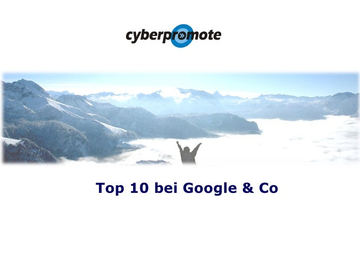 Top 10 bei Google & Co