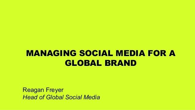 Logitech: Managing social media for a global brand, presented by Reagan Freyer Slide 3