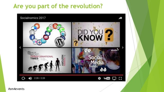 Social Media for Events and Campaigns Slide 2