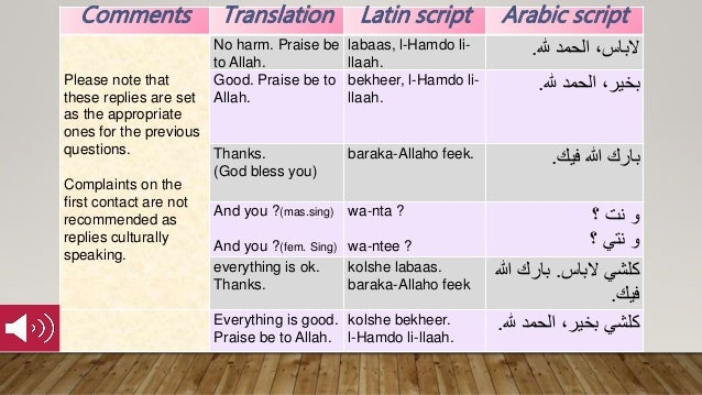 Survival moroccan arabic 1 greetings please download the file or co 6 comments translation latin m4hsunfo