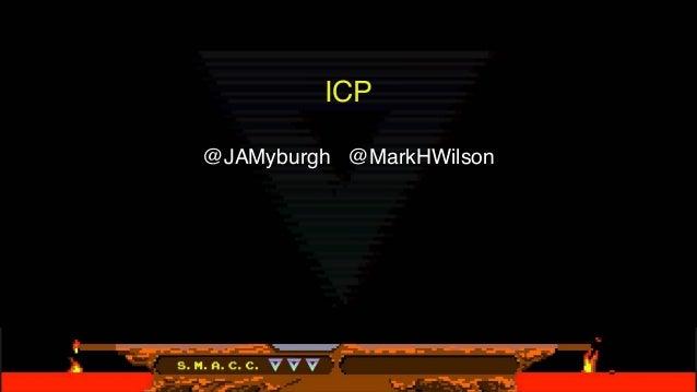 ICP @JAMyburgh @MarkHWilson