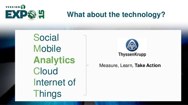 15 Social Mobile Analytics Cloud Internet of Things What about the technology? Technology platform for next generation of ...