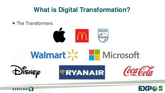5 What is Digital Transformation?  The Transformers