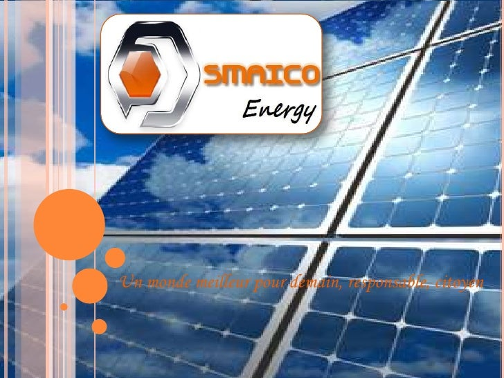 Présentation Smaico Energy