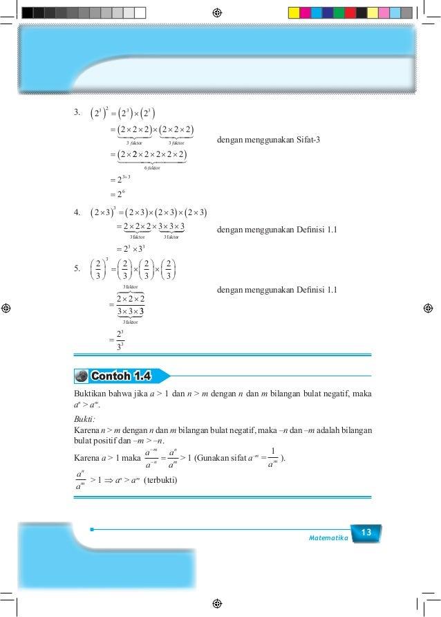 13Matematika 3. 2 2 2 2 2 2 2 2 2 2 3 2 3 3 3 3 ( ) = ( )×( ) = × ×( )× × ×( ) = × f faktor aktor 22 2 2 2 2 2 2 6 3 3 6 ...