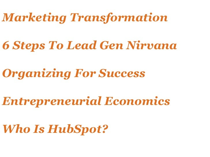 How Small Businesses Can Generate Leads with HubSpot Slide 2