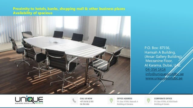 Small office space for rent in dubai uae