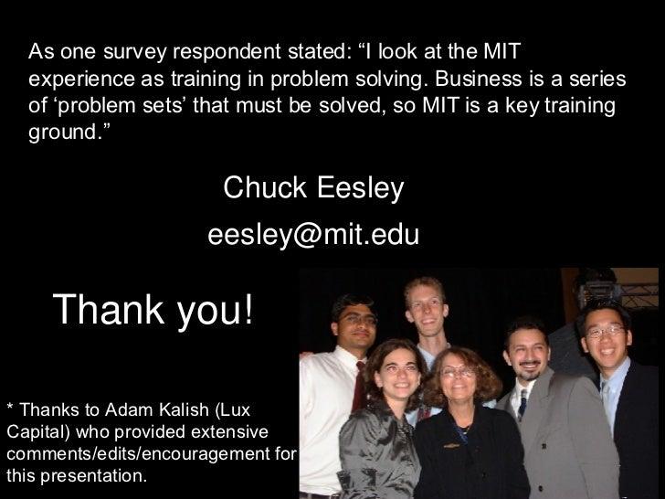 Chuck eesley dissertation