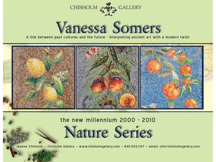 THE NATURE SERIES~ VANESSA SOMERS VREELAND ~ COURTESY of CHISHOLM GALLERY, JEANNE CHISHOLM