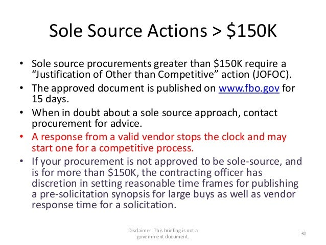 Sole Source Letter Template Microsoft Word from image.slidesharecdn.com