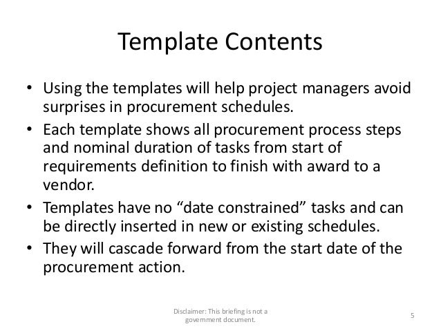 project 2010 templates
