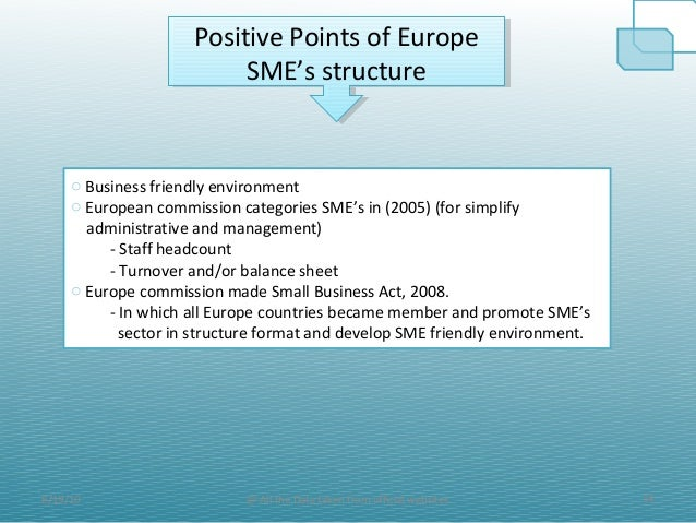 Small and medium-sized enterprises