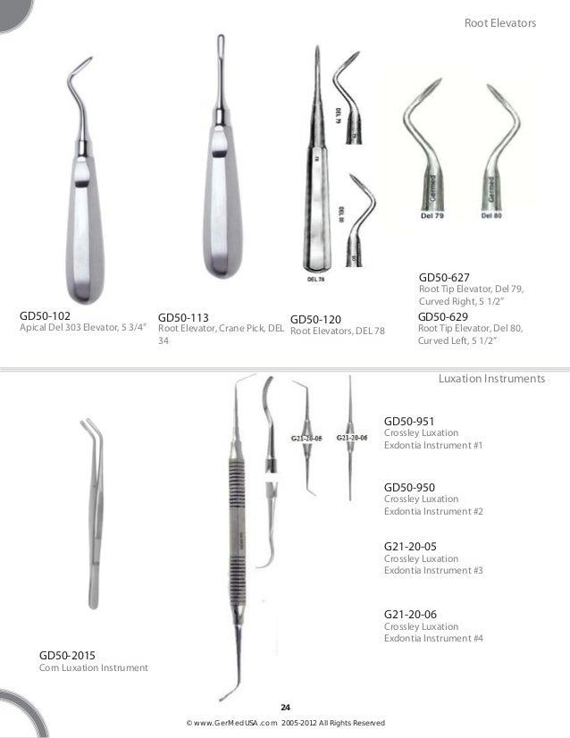 germedusa small animal dental instruments