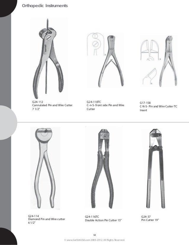 GermedUsa Small animal Surgical Instrument catalog