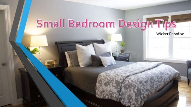 Wicker Paradise | Small Bedroom Design Tips