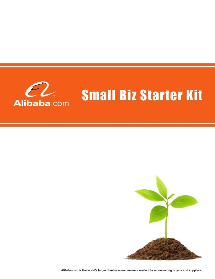 Small Biz Starter KitAlibaba.com is the world's largest business e-commerce marketplace connecting buyers and suppliers.