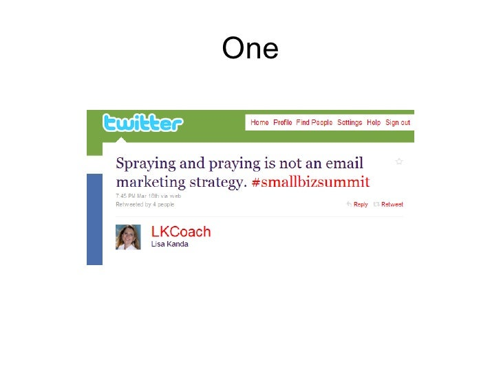 Small Business Summit 2010 Slide 2
