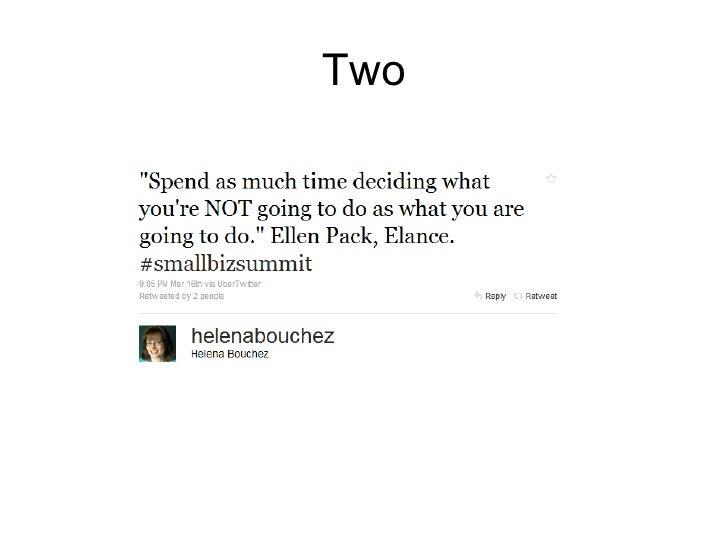 Small Business Summit 2010 Slide 3