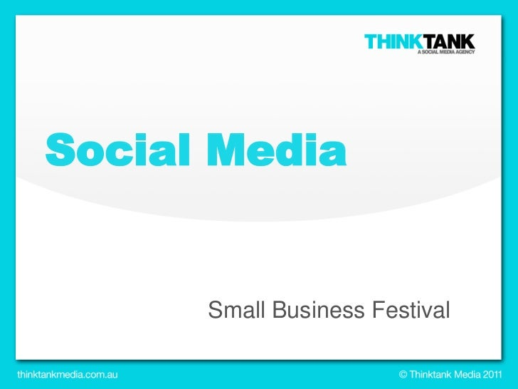 Social Media<br />Small Business Festival<br />