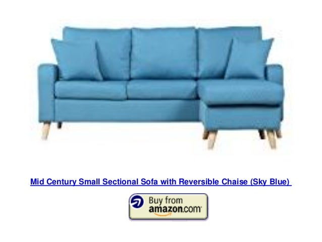 blue convertible sectional sofa 6 mid century small