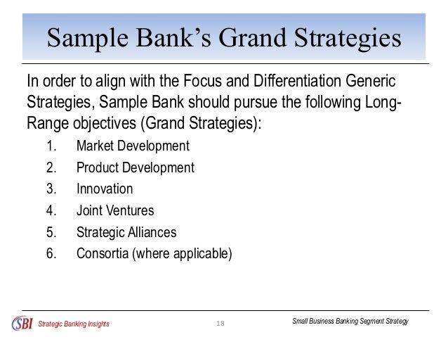 difference between generic strategy and grand strategy Porter's generic strategies are ways of gaining competitive advantage – in other   if you're in an organization committed to achieving cost leadership, can you.
