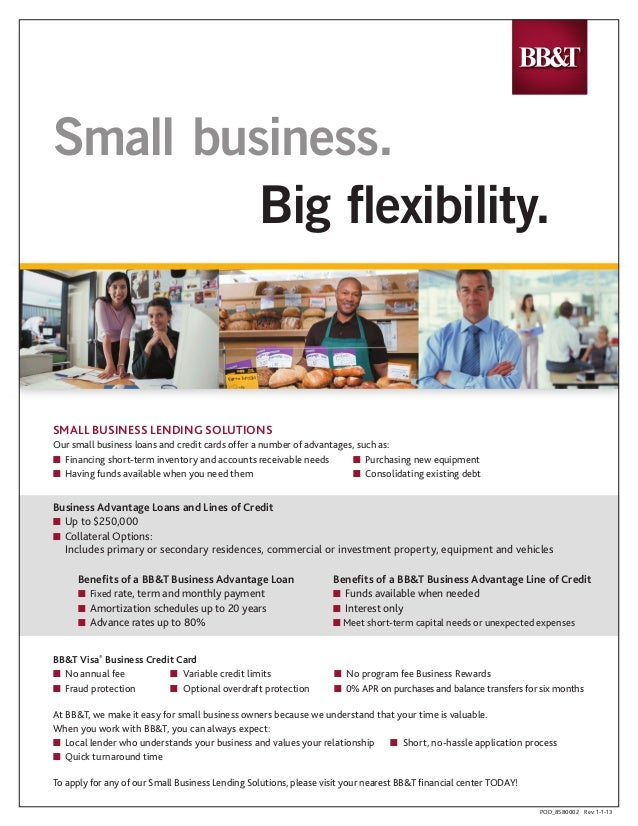 Small business big flexibility small business big exibility small business lending solutions our small business loans and credit reheart Choice Image