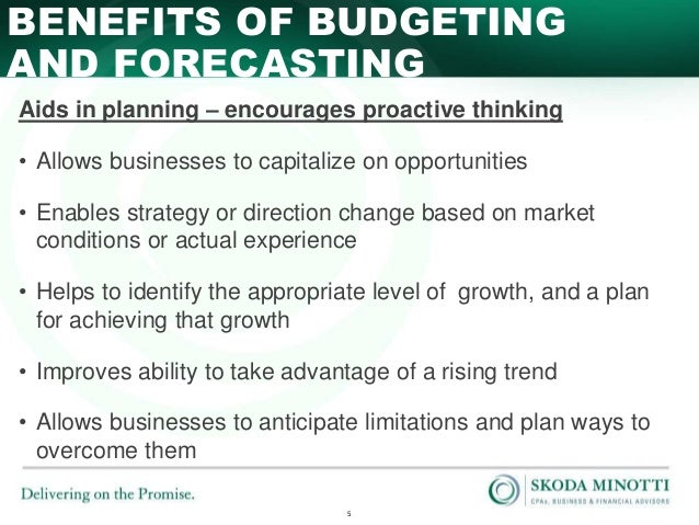 small business tips budgeting and forecasting