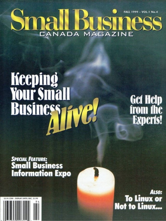 Small Business Canada Magazine Marketing articles in this series by George Torok  Your Guide to Personal Marketing Keeping...