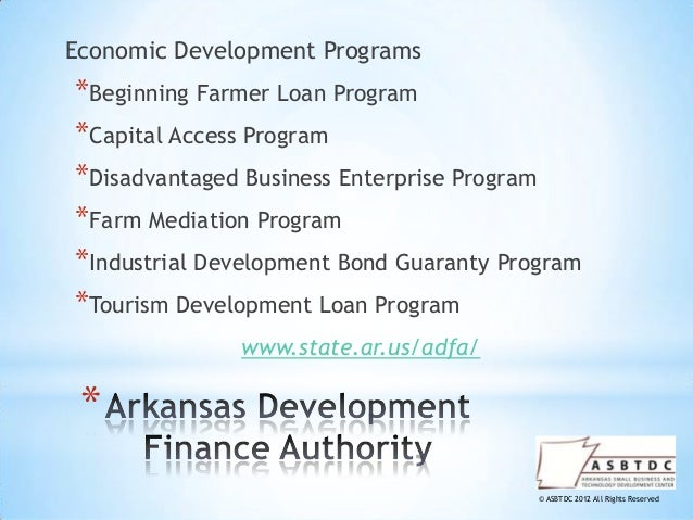 Small business financing options workshop for Rural development loan arkansas