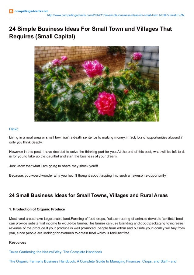 24 Small Business Ideas With Resources To Get You Started
