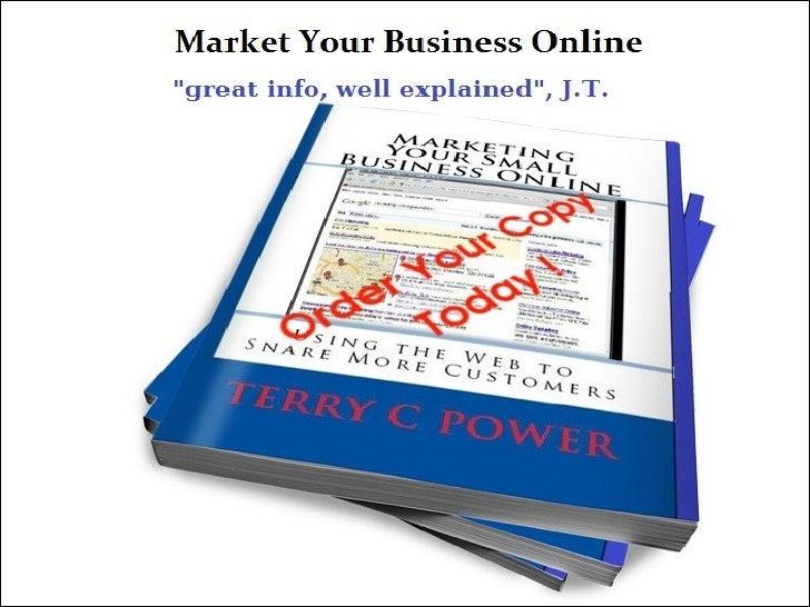 Small business marketing online plan