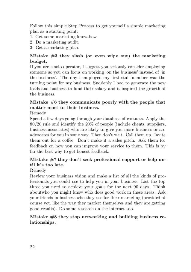 Small business marketing tips by danielle macinnis 30 fandeluxe Image collections