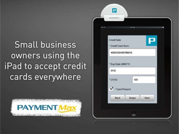 Small Business Owners Using The I Pad To Accept Credit Cards Everywhe