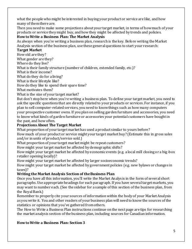 printer business plan
