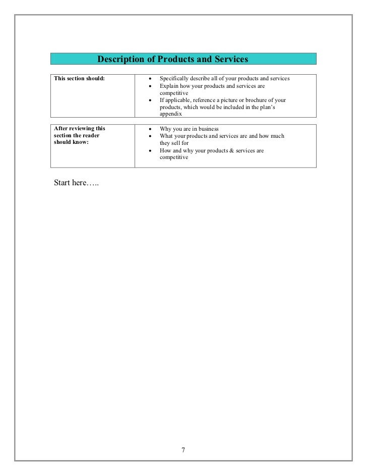 small business plan template nzqa
