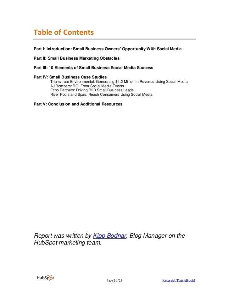 Small Business Social Media Marketing eBook Slide 2