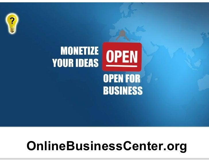 OnlineBusinessCenter.org