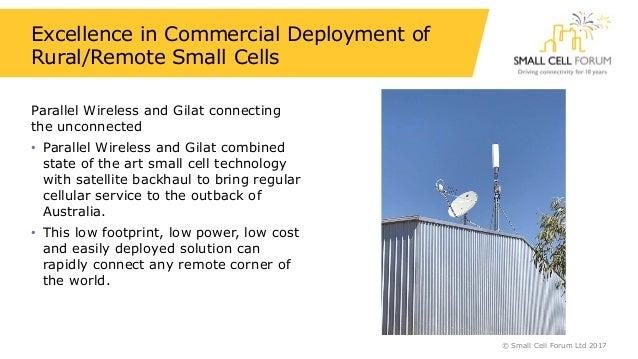 Small cell innovations 2017